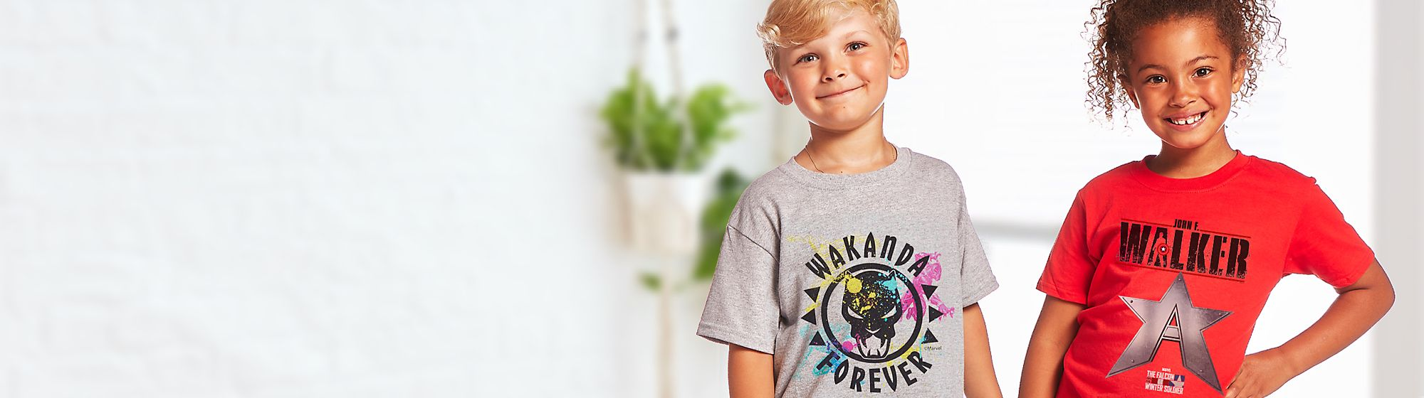 Kids Customised T-Shirts Explore an all-new selection of kids personalisable T-shirts! Pick a print, pick a colour, and leave the magic to us