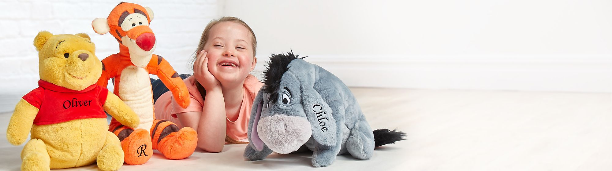 Personalisation Shop Add that personal touch to our timeless soft toys
