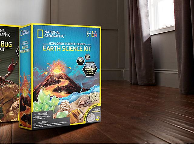 Sumérgete en las maravillas de la Tierra con artículos de papelería, juguetes científicos, etc. COMPRAR