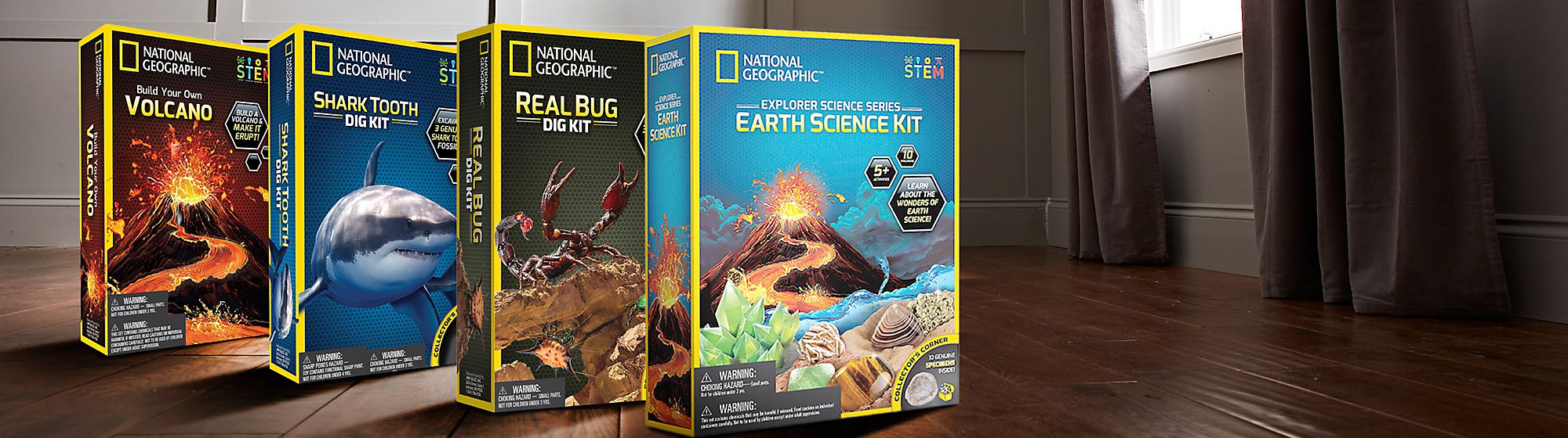 National Geographic Bring the wonders of the world into your everyday life through products that inspire and empower exploration.