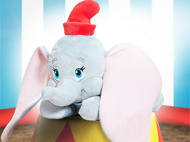 Dumbo Soft Toy Now £12.50 (Was £21) When you spend £10.
