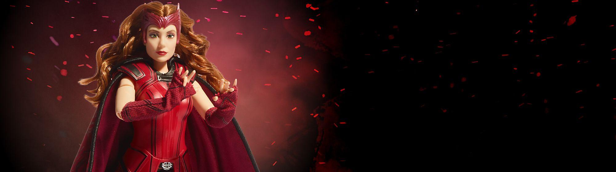 """Poupée La Sorcière Rouge en édition spéciale Produit inspiré du personnage de la nouvelle série originale """"WandaVision"""""""