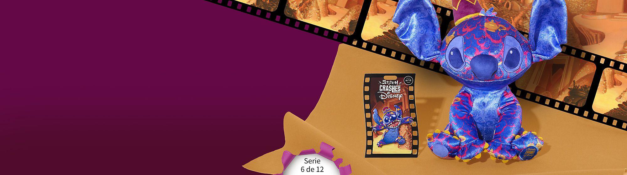 Stitch se cuela en Aladdín Colecciona esta serie de edición limitada de 12 pins y peluches, Serie 6 de 12 Disponible en Europa el 18 de junio de 2021