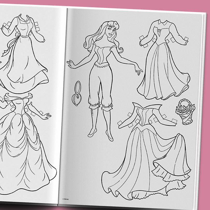Prinzessinnen Papierkostüme