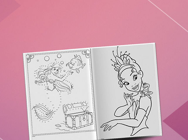 Let imagination run wild with our Princess activity booklets  EXPLORE NOW