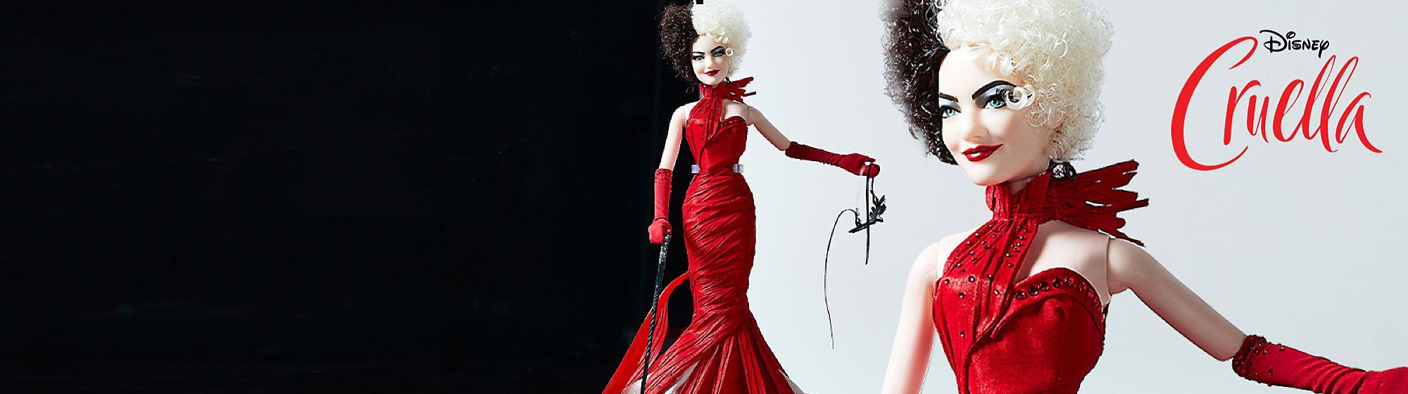Cruella - Puppe in limitierter Edition Entdecke unsere bisher coolsten und wildesten Puppen in limitierter Edition