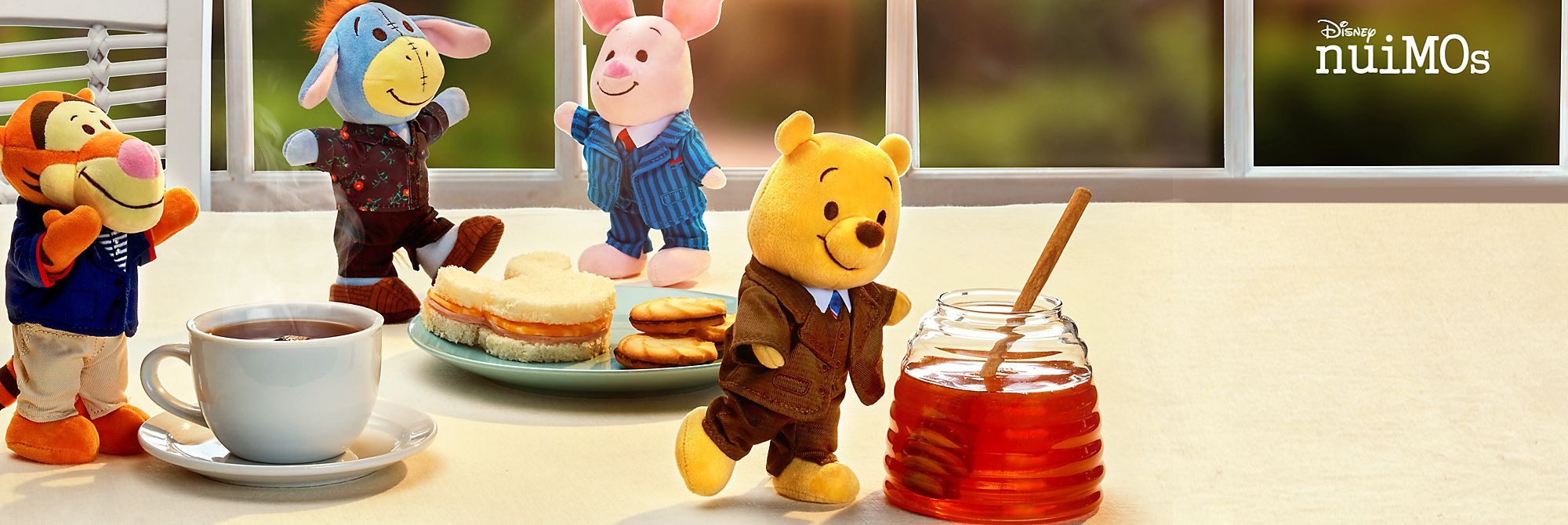 Recién llegados del bosque de cien acres Winnie the Pooh y sus amigos  son la adición más reciente a la familia de peluches nuiMOs de Disney COMPRAR DISNEY NUIMOS