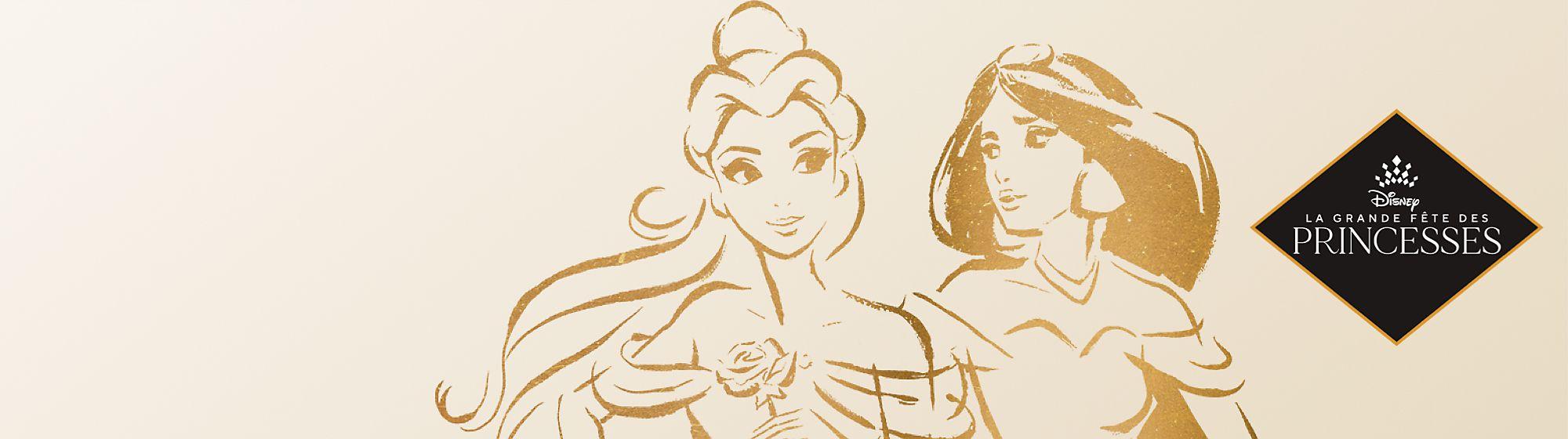 Princesses Disney pour adultes Laissez-vous séduire par notre gamme de vêtements, mugs et cadeaux Princesses Disney
