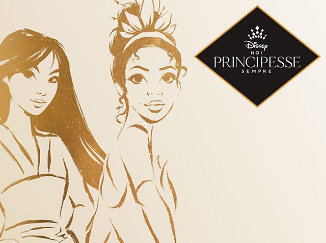 Principesse Disney adulti Scopri una incantevole linea ACQUISTA ORA