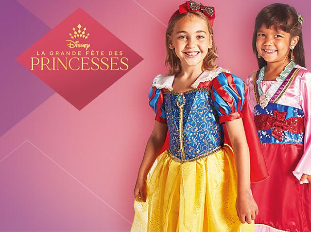 Princesses Disney pour enfants Laissez-vous séduire par notre gamme VOIR LA COLLECTION