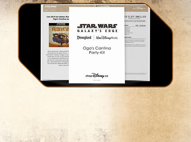 Oga's Cantina Party-Kit Lass dich bei deiner Star Wars Party zu Hause von Oga's Cantina auf Batuu inspirieren