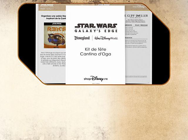 Kit de fête Cantina d'Oga Organisez une soirée Star Wars chez vous en vous inspirant de la Cantina d'Oga sur Batuu