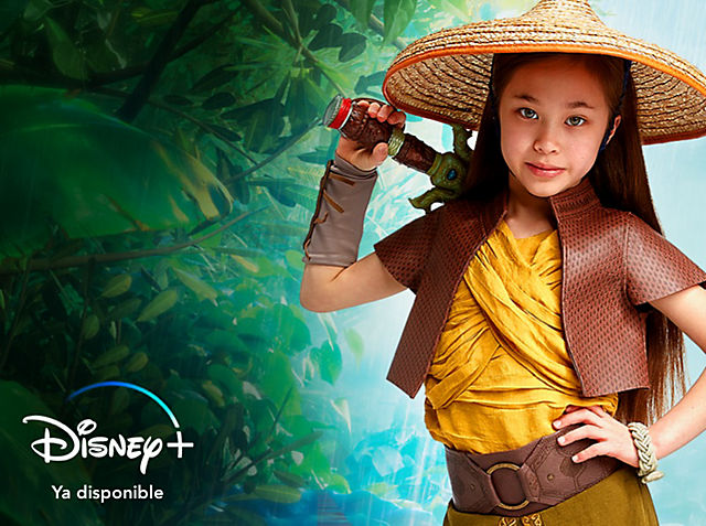 Raya y el último dragón Adéntrate en el mágico mundo de Raya and the Last Dragon con nuestros juguetes, prendas, disfraces y mucho más. COMPRAR