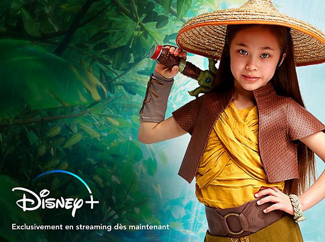 Raya et le Dernier Dragon Retrouvez le monde magique de Raya and the Last Dragon.  © *Abonnement requis. Voir conditions sur DisneyPlus.com VOIR LA COLLECTION