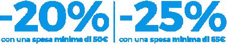 Usa il codice: MICKEY Solo online | Termina alle 09:00 del 21 maggio | Fino a esaurimento scorte | Termini e condizioni applicabili APPROFITTANE ORA