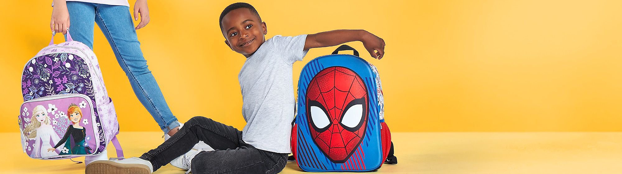 New school year, new Disney gear! Get your Disney, Pixar, Star Wars and Marvel backpacks, stationery, lunch boxes and more