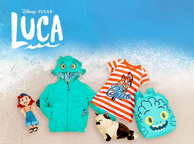 Luca Découvrez la côte italienne ensoleillée avec notre gamme de produits Luca © *Abonnement requis. Voir conditions sur DisneyPlus.com VOIR LA COLLECTION