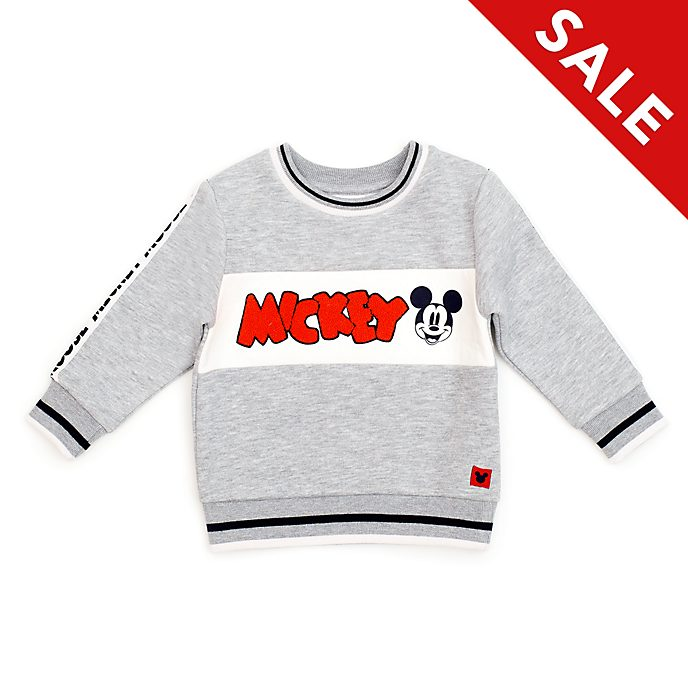 Disney Store Mickey Mouse Grey Sweatshirt For Baby & Kids