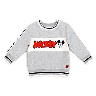 Felpa con cappuccio bimbi e baby Topolino grigio Disney Store
