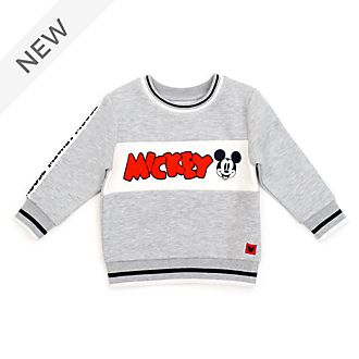 Disney Store Mickey Mouse Grey Baby Sweatshirt