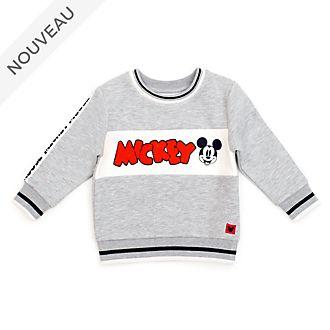 Disney Store Sweat Mickey gris pour bébés