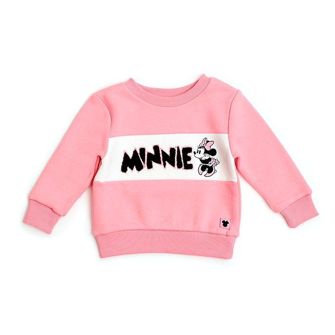 Sudadera rosa Minnie Mouse para bebés y niñas, Disney Store