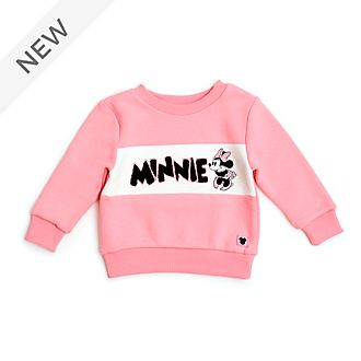 Disney Store Minnie Mouse Pink Baby Sweatshirt