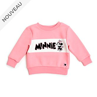 Disney Store Sweat Minnie rose pour bébés