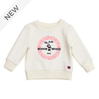 Disney Store Minnie Mouse Sweatshirt For Baby & Kids