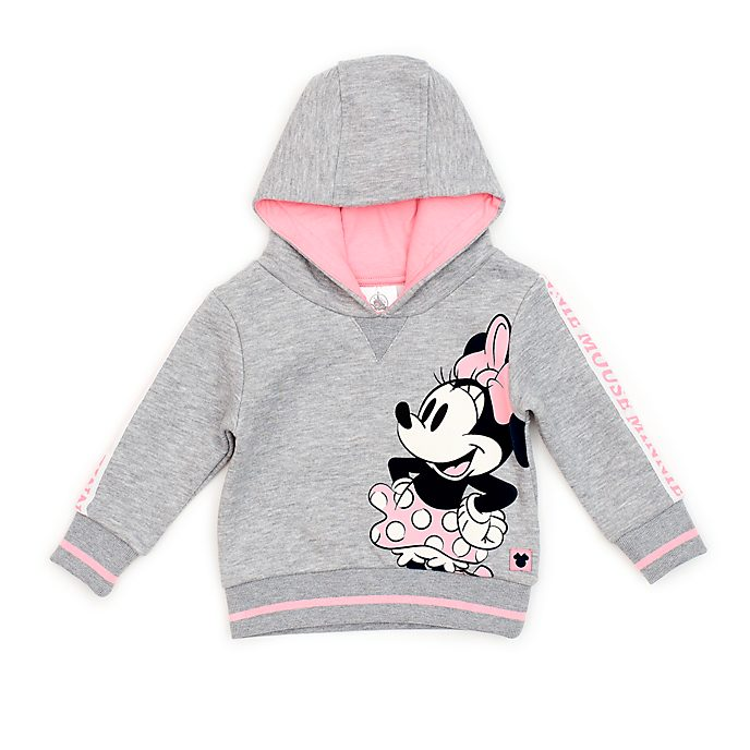 Disney Store Minnie Mouse Hooded Sweatshirt For Baby & Kids