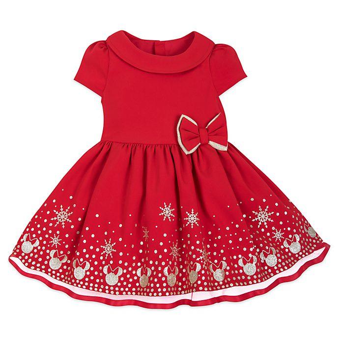 Disney Store - Holiday Cheer - Minnie Maus - Set mit Kleid und Pumphöschen für Babys