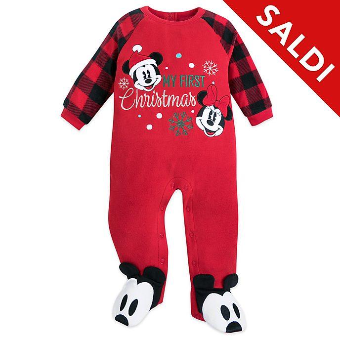 Tutina baby Topolino e Minni Holiday Cheer Disney Store