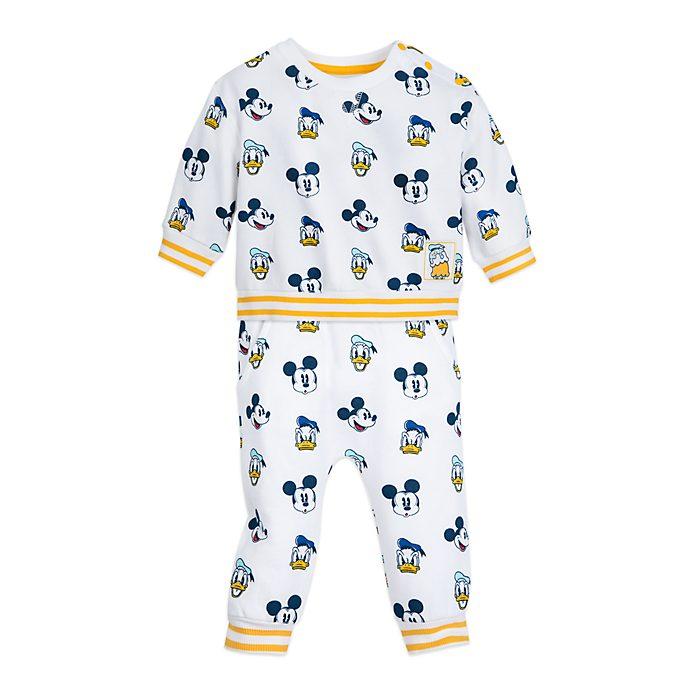 Completo maglia e pantaloni baby Topolino e Paperino Disney Store