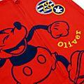 Disney Store Ensemble t-shirt et salopette Mickey pour bébé