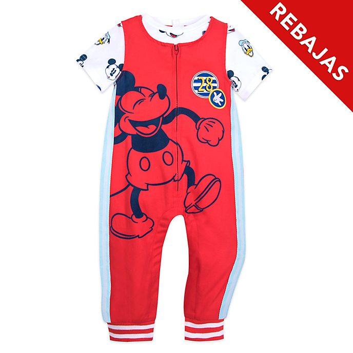 Conjunto peto y camiseta para bebé Mickey Mouse, Disney Store