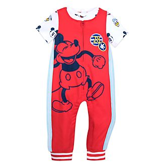Disney Store Mickey Mouse Baby Dungaree and T-Shirt Set
