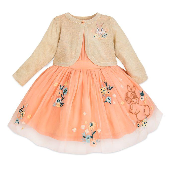 Disney Store - Bambi - Miss Bunny - Set aus Kleid und Cardigan für Babys