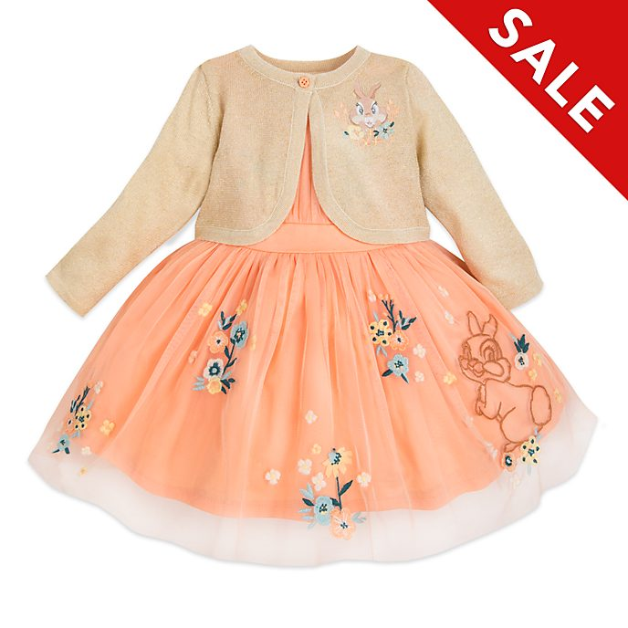 Disney Store Miss. Bunny Baby Dress and Cardigan Set