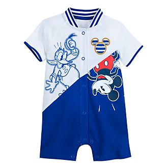 Disney Store Mickey and Donald Baby Romper