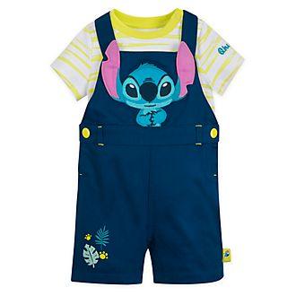Completo salopette e tutina baby Stitch Disney Store