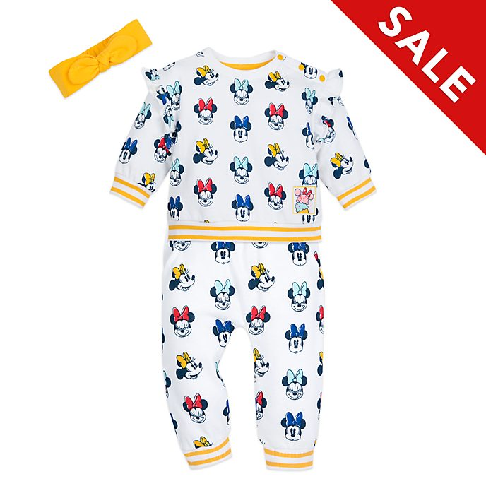 Disney Store Minnie Mouse Baby Top and Bottoms Set