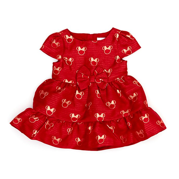 Disney Store Ensemble robe et culotte Minnie pour bébés, Holiday Cheer