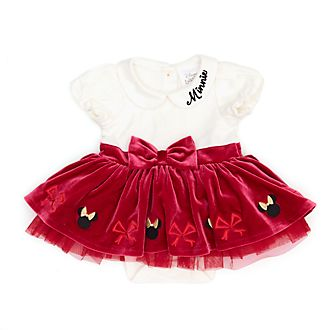 Disney Store Body tutu Minnie pour bébés, Holiday Cheer
