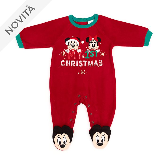 Tutina copertina baby Topolino e Minni Holiday Cheer Disney Store