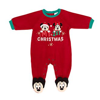 Disney Store - Holiday Cheer - Micky und Minnie - Warmer Baby Body