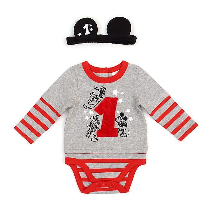 Disney Store Body Mickey et ses Amis Mon premier anniversaire pour bébés