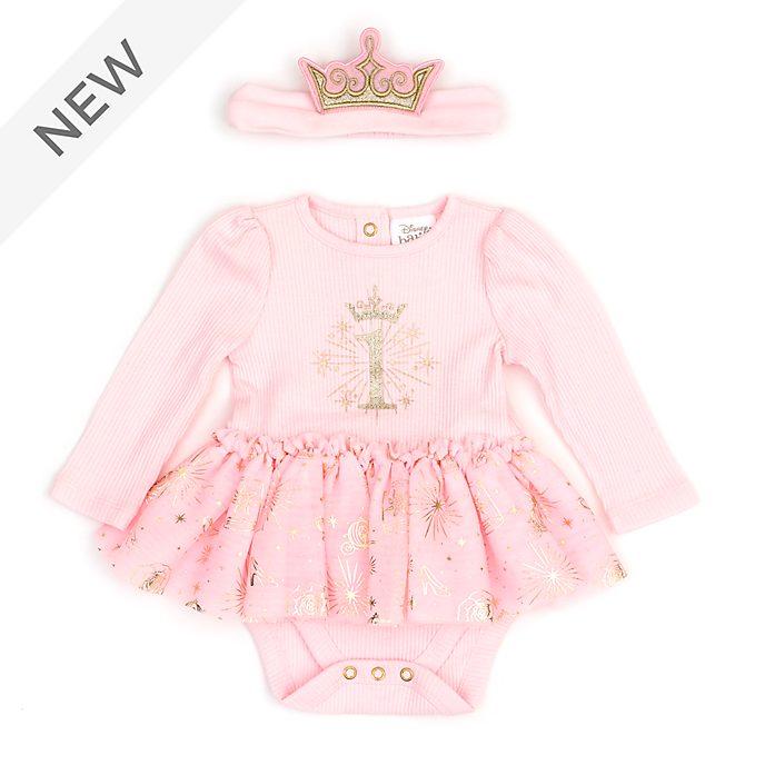 Disney Store Disney Princess My First Birthday Baby Body Suit