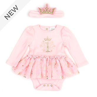 Disney Store Disney Princess My First Birthday Baby Body Suit