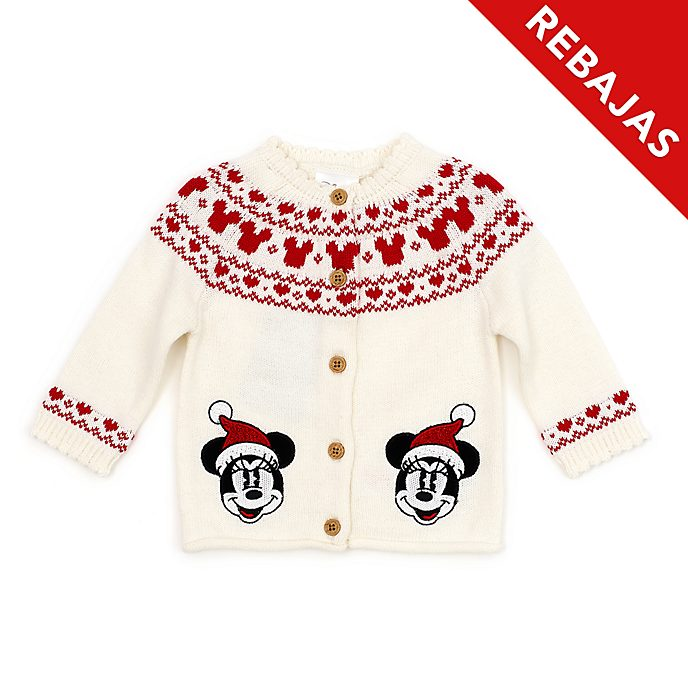 Rebeca para bebés Minnie Mouse, Holiday Cheer, Disney Store