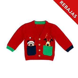 Cárdigan para bebé Mickey y Pluto, Holiday Cheer, Disney Store